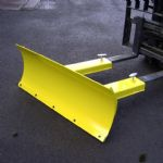 Snow Plough Fixed - Steel Wear Strip - 1525mm Wide
